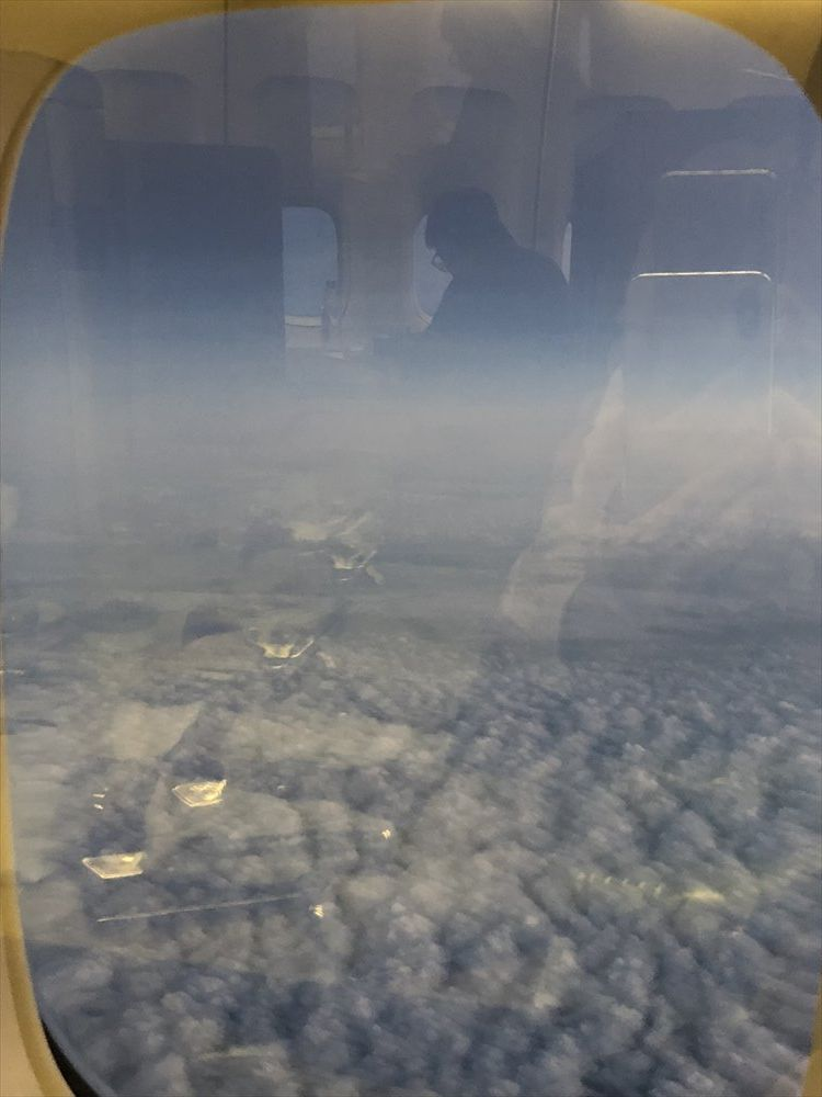 TG660便から見た青空