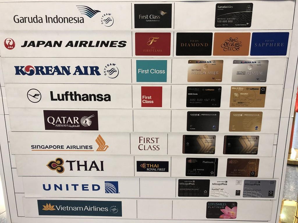 羽田航空のカタール航空のプライオリティレーン