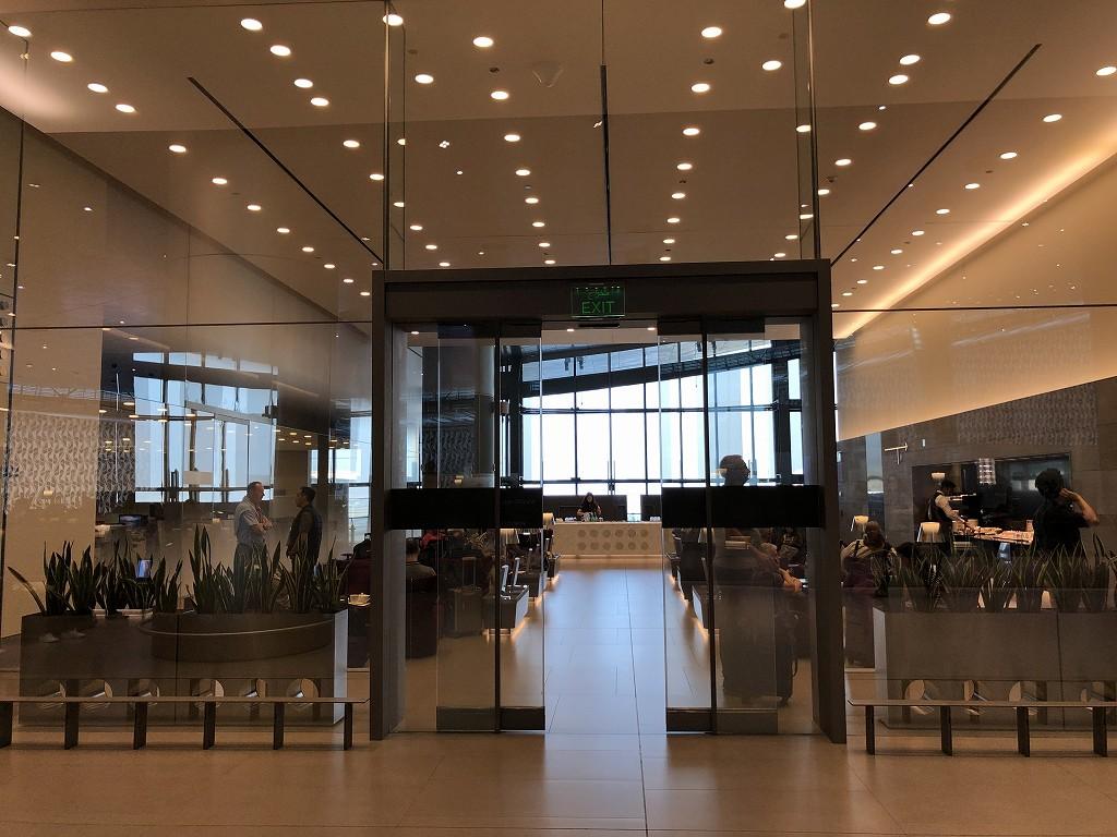 ドーハ空港 アル・ムルジャン ビジネスクラス ラウンジのビジネスラウンジ1