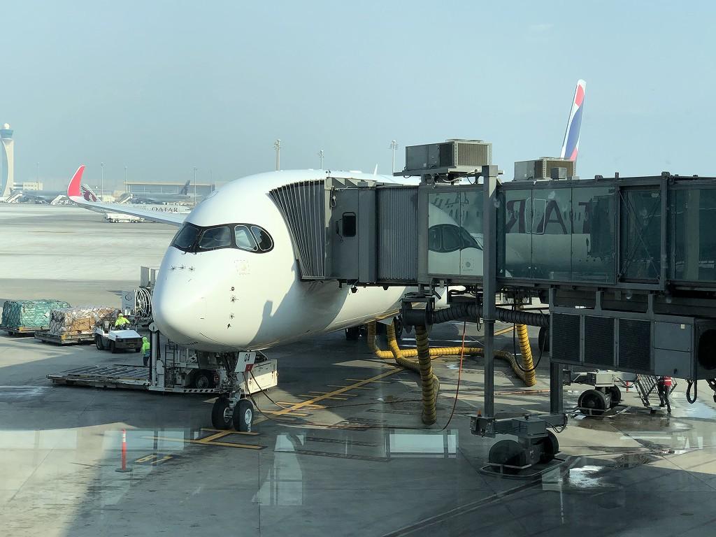 カタール航空QR145便(A350-900機材)