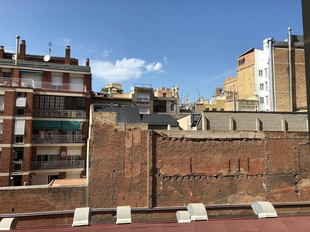 ル・メリディアン バルセロナからの眺め