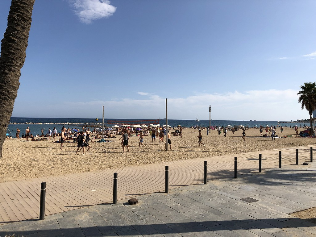 バルセロネータのビーチ1