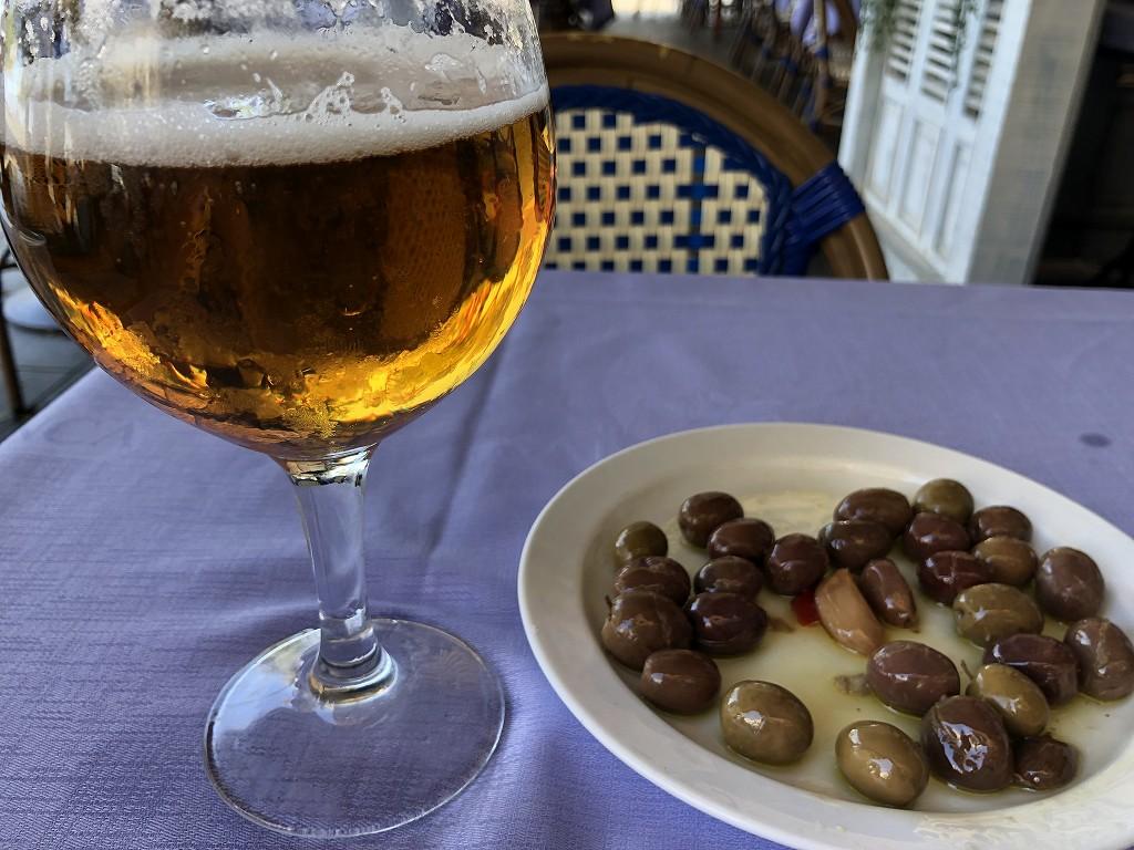 バルセロナのSALAMANCAのビール