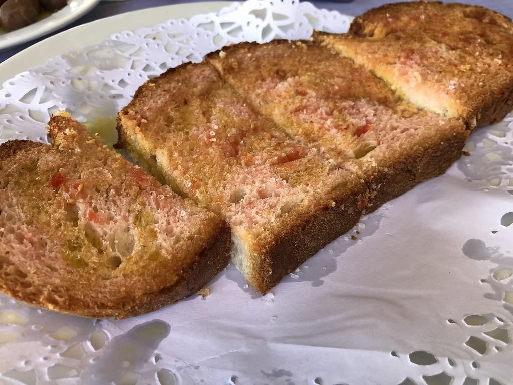 バルセロナのSALAMANCAのパン