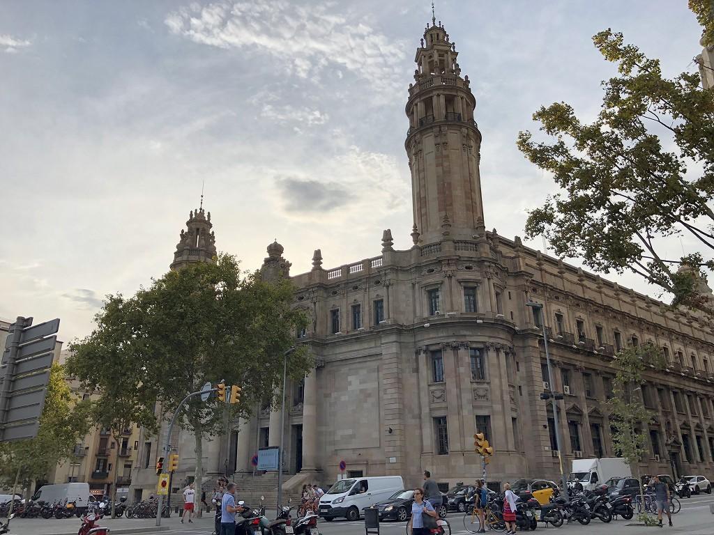 バルセロナの歴史的建造物