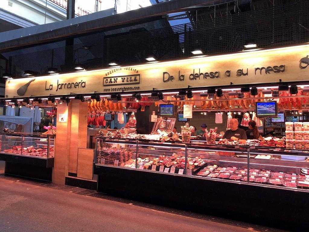 バルセロナのボケリア市場3