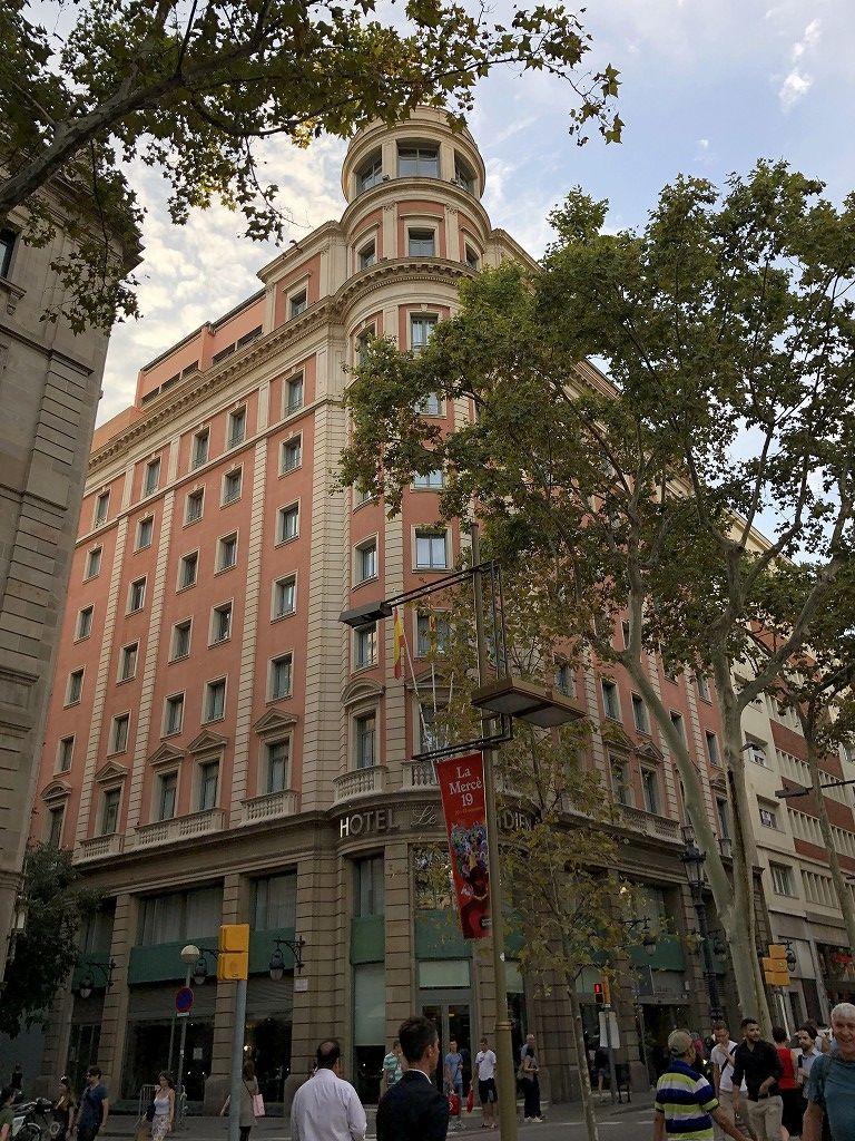 ル・メリディアン バルセロナの外観