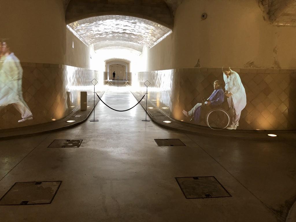 サン・パウ病院の地下通路