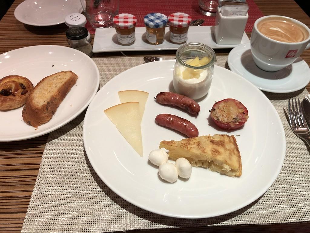 ル・メリディアン バルセロナの「CENTONZE」の朝食