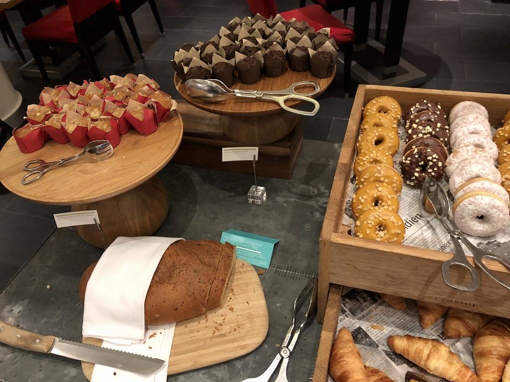 ル・メリディアン バルセロナの朝食会場の「CENTONZE」のパン1