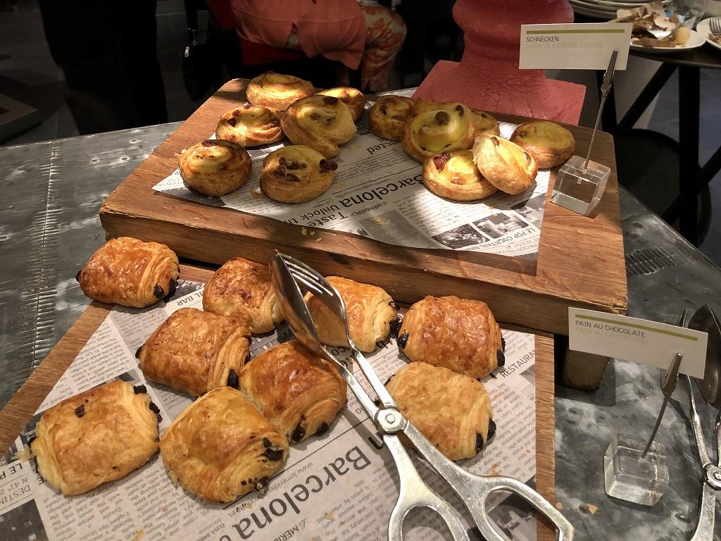 ル・メリディアン バルセロナの朝食会場の「CENTONZE」のパン2