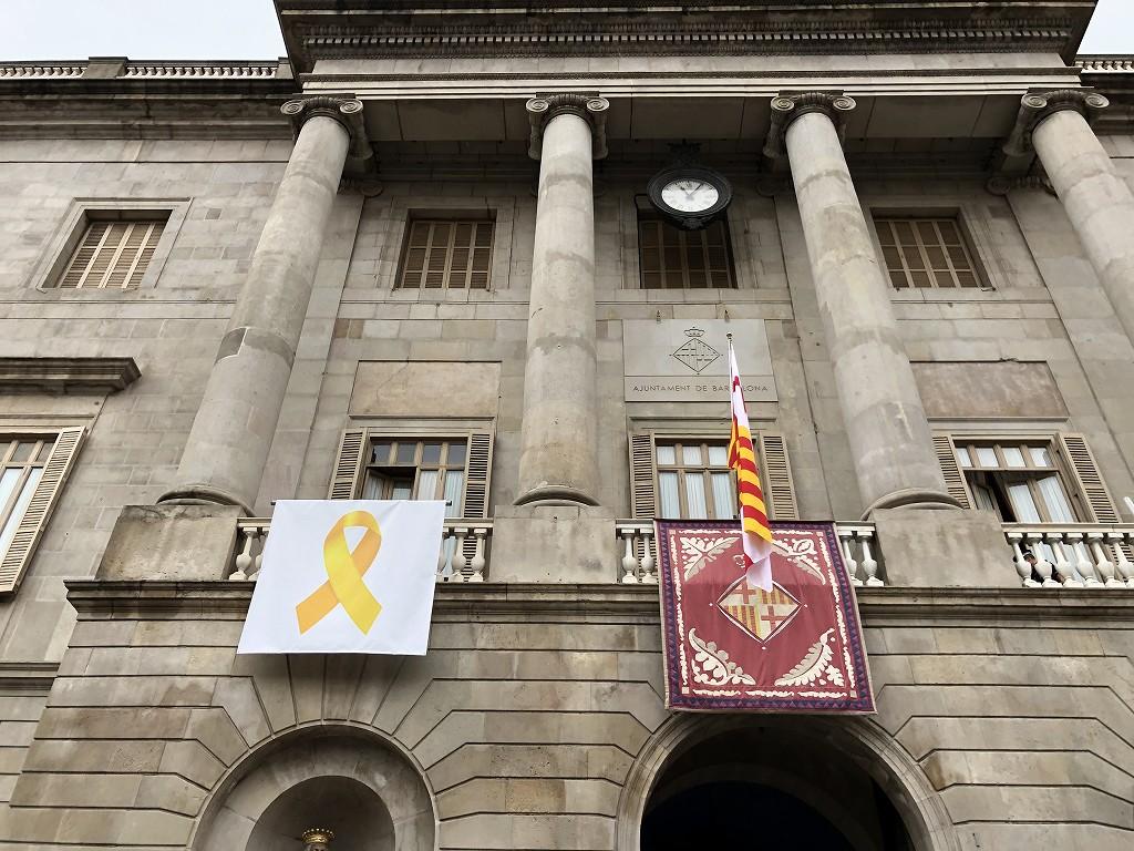 バルセロナのサンジャウマ広場2
