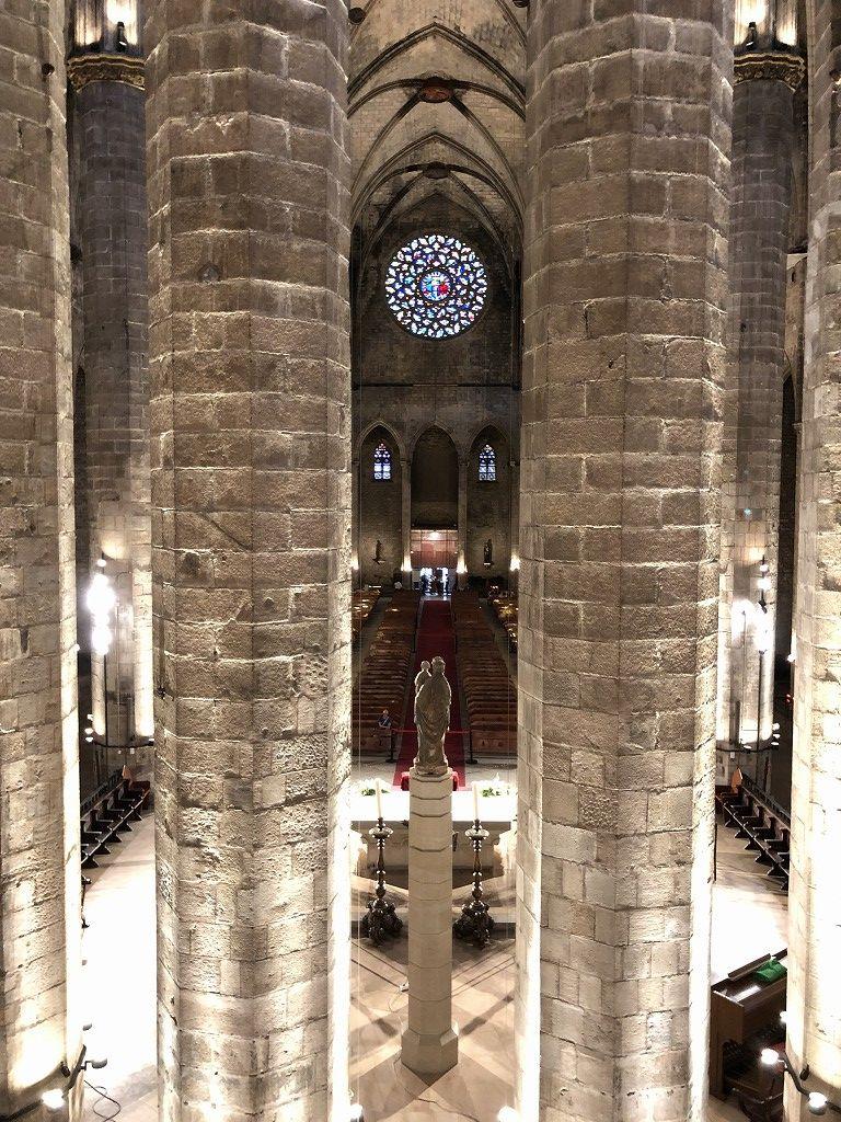 サンタ・マリア・ダル・マル教会の内観4