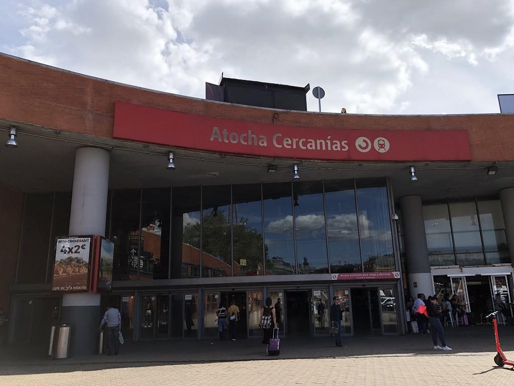 マドリード・アトーチャ駅の外観