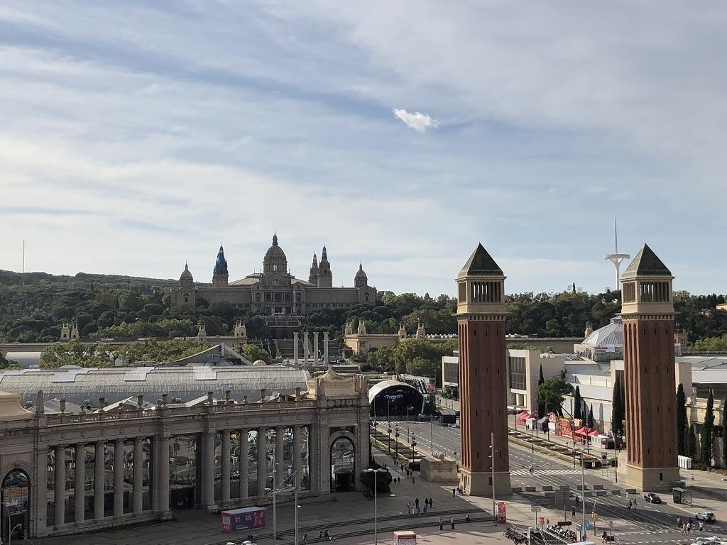 バルセロナの旧闘牛場からエスパーニャ広場2