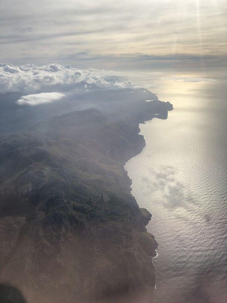 マヨルカ島上空のブエリング航空VY3908便1