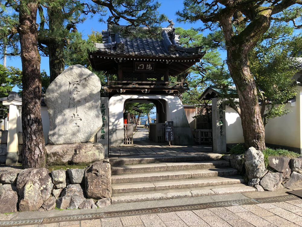 浮御堂(満月寺)の楼門