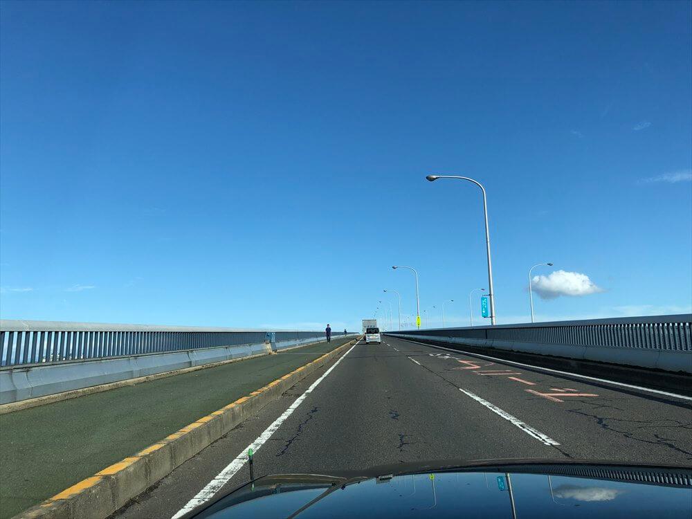 琵琶湖大橋走行中1