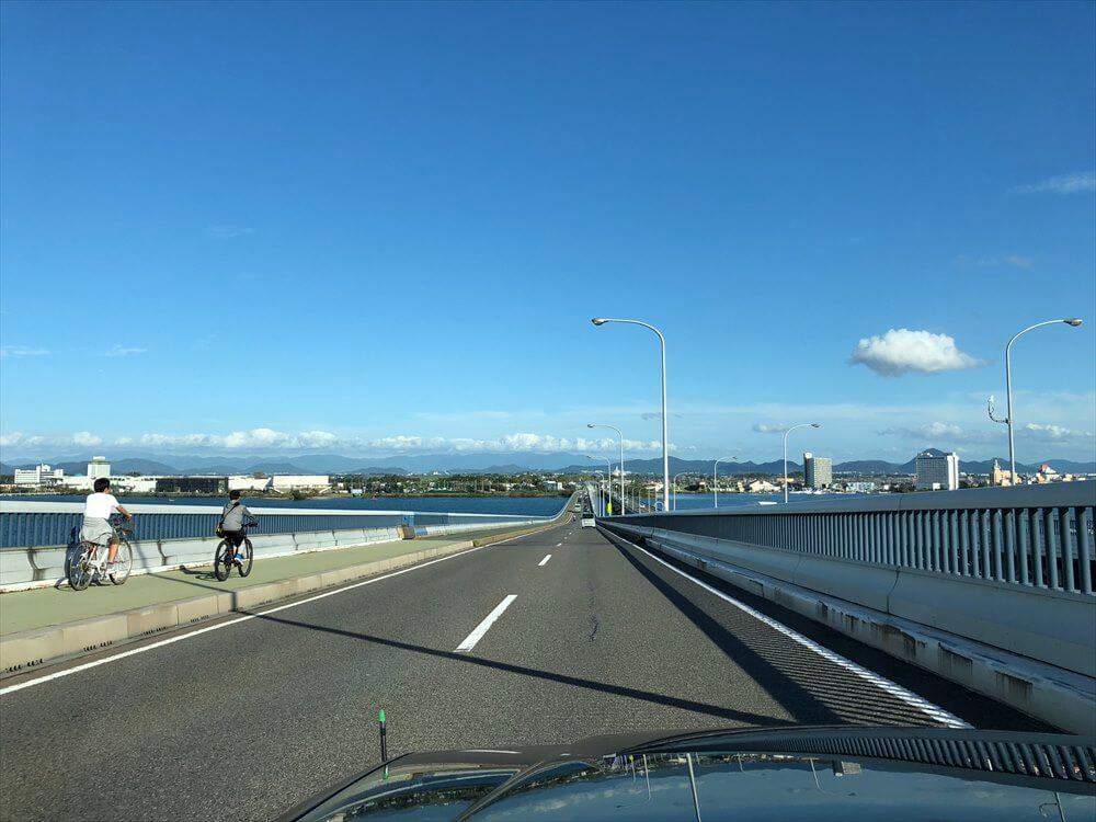 琵琶湖大橋走行中2