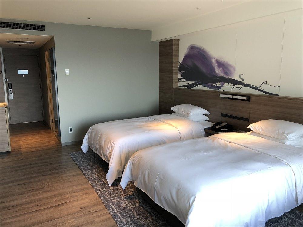 琵琶湖マリオットホテルのデラックスルーム3