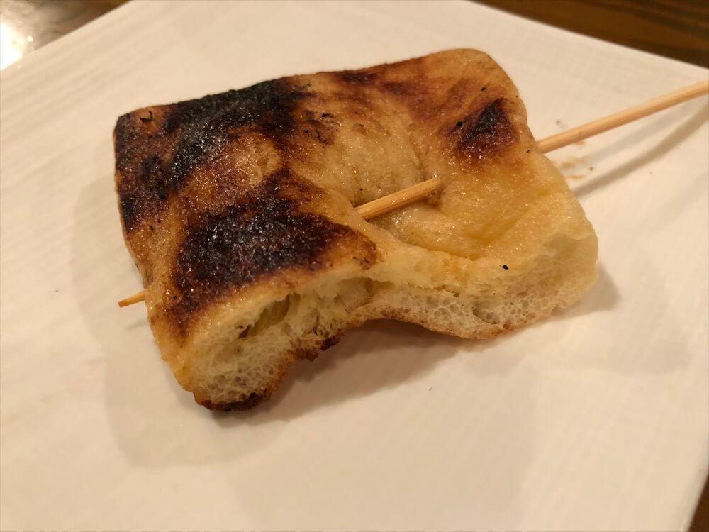 堅田のソラナカのきつね焼き