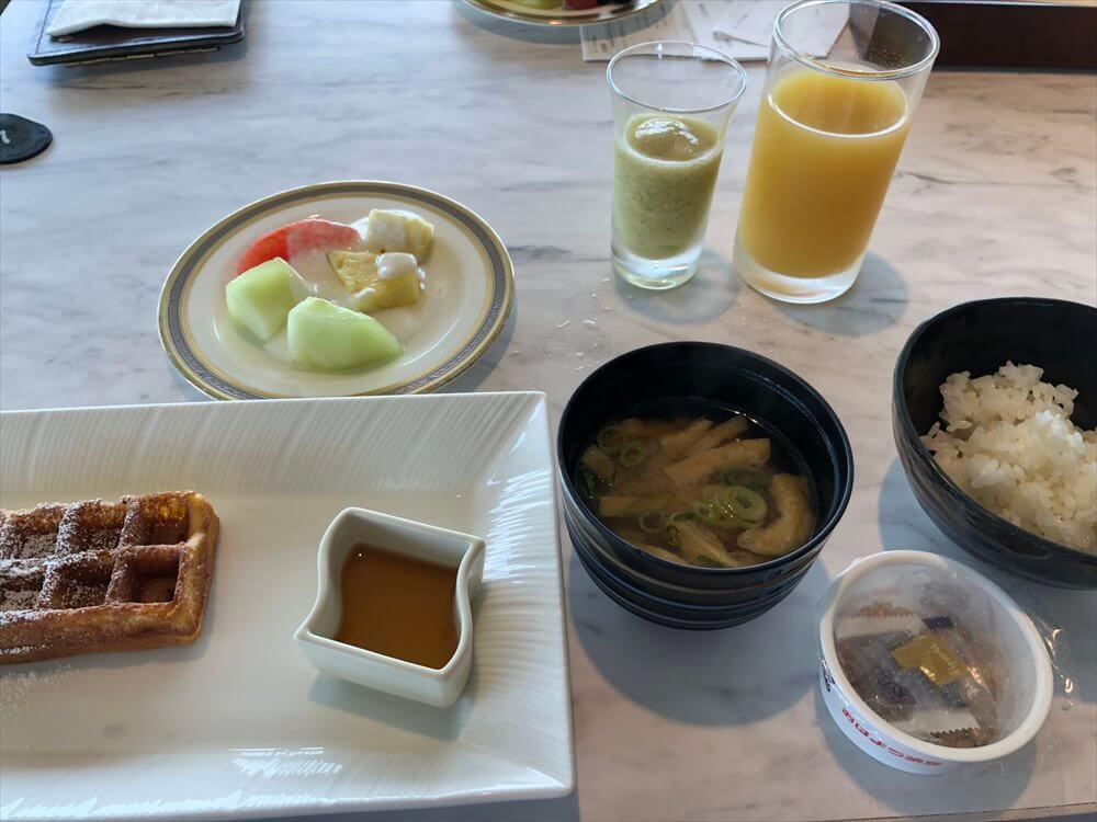 琵琶湖マリオットホテルの朝食(2日目)