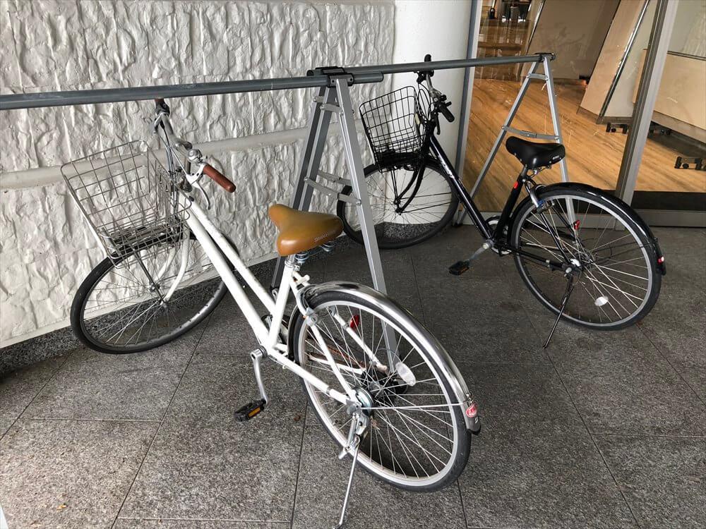 琵琶湖マリオットホテルのレンタサイクル