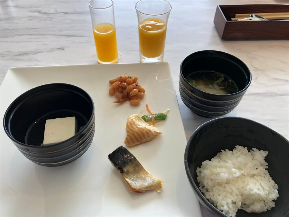 琵琶湖マリオットホテルの朝食(3日目)