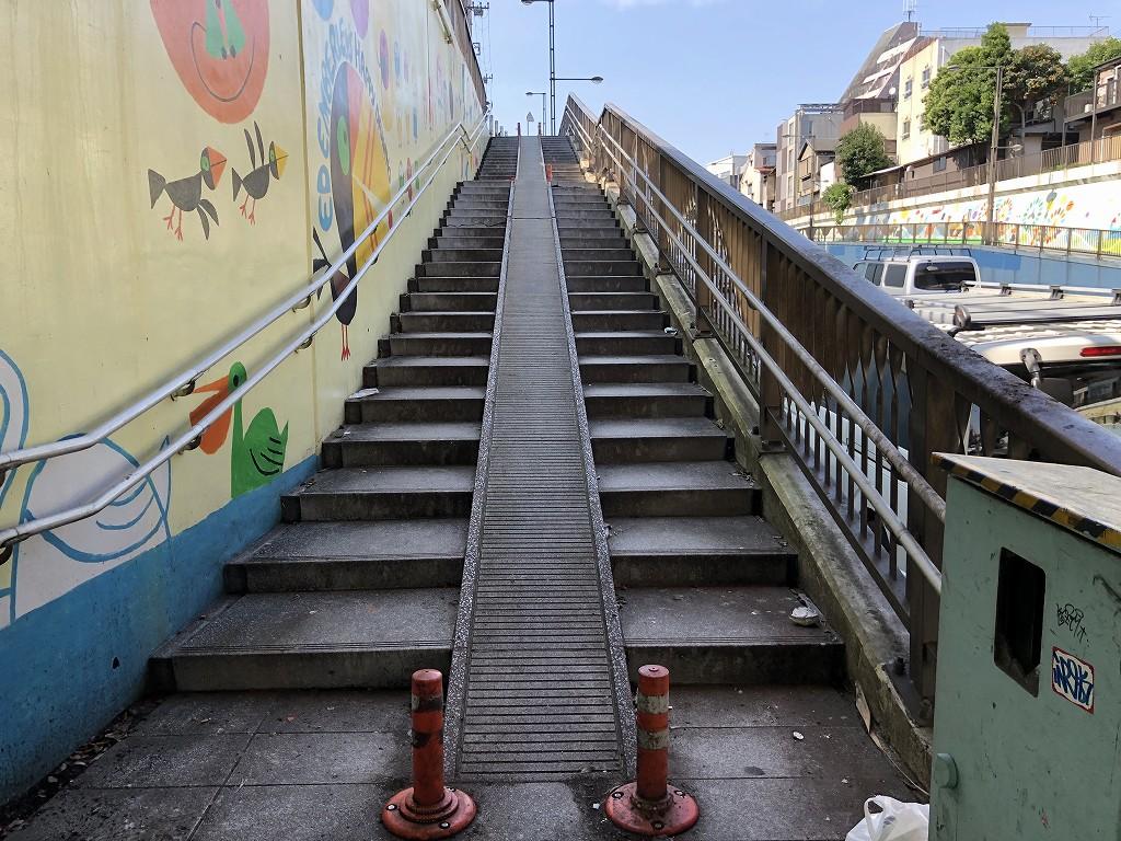 環七の階段