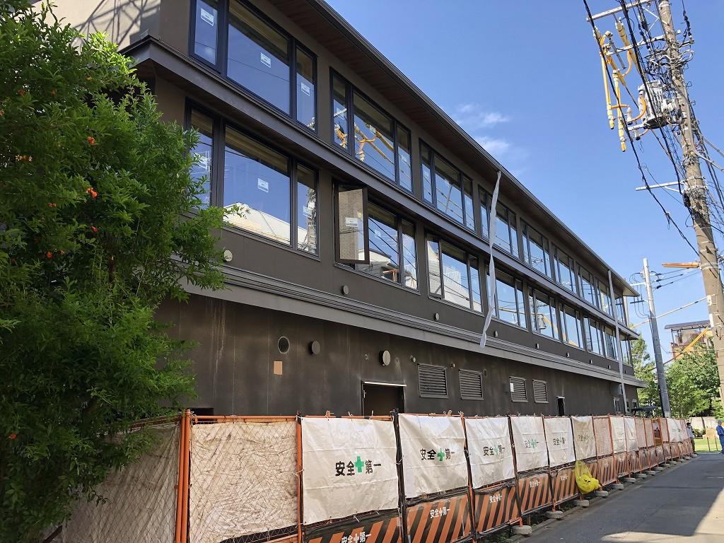 建設中の「由縁別邸 代田」3