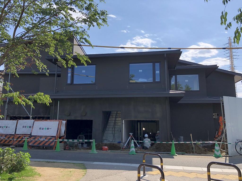 建設中の「由縁別邸 代田」2