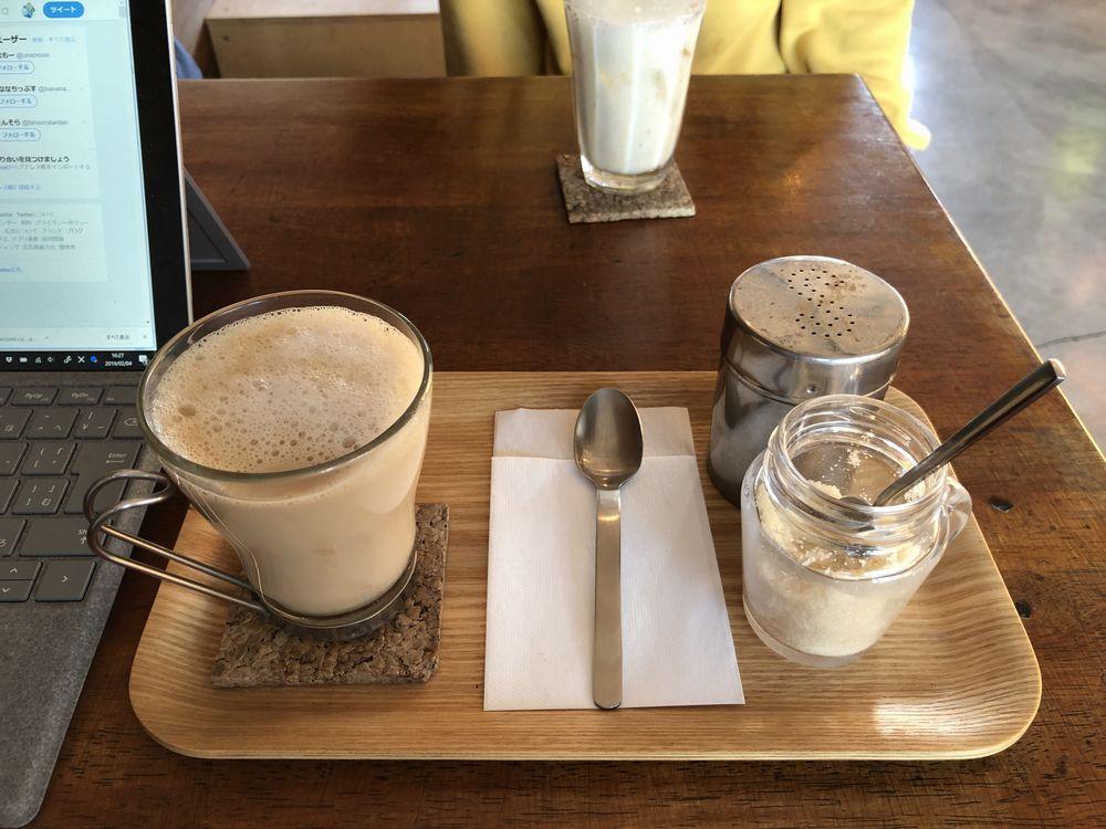 カフェムリウイのお茶