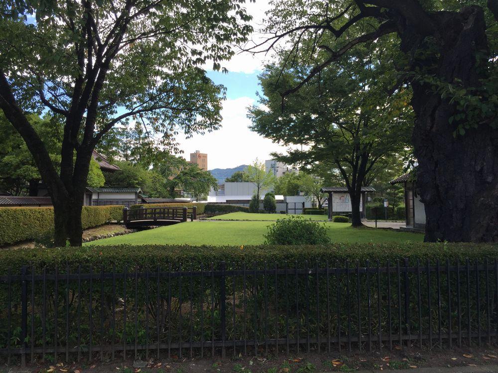 庄内藩校・致道館の庭