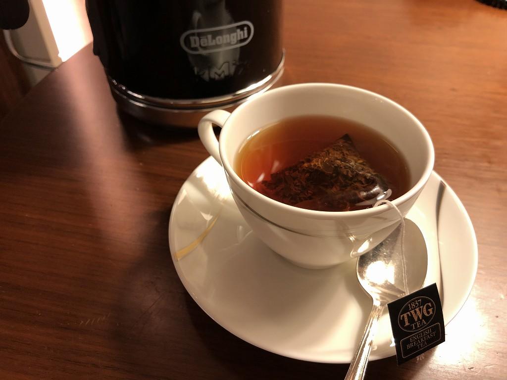 コンラッド東京のTWGの紅茶