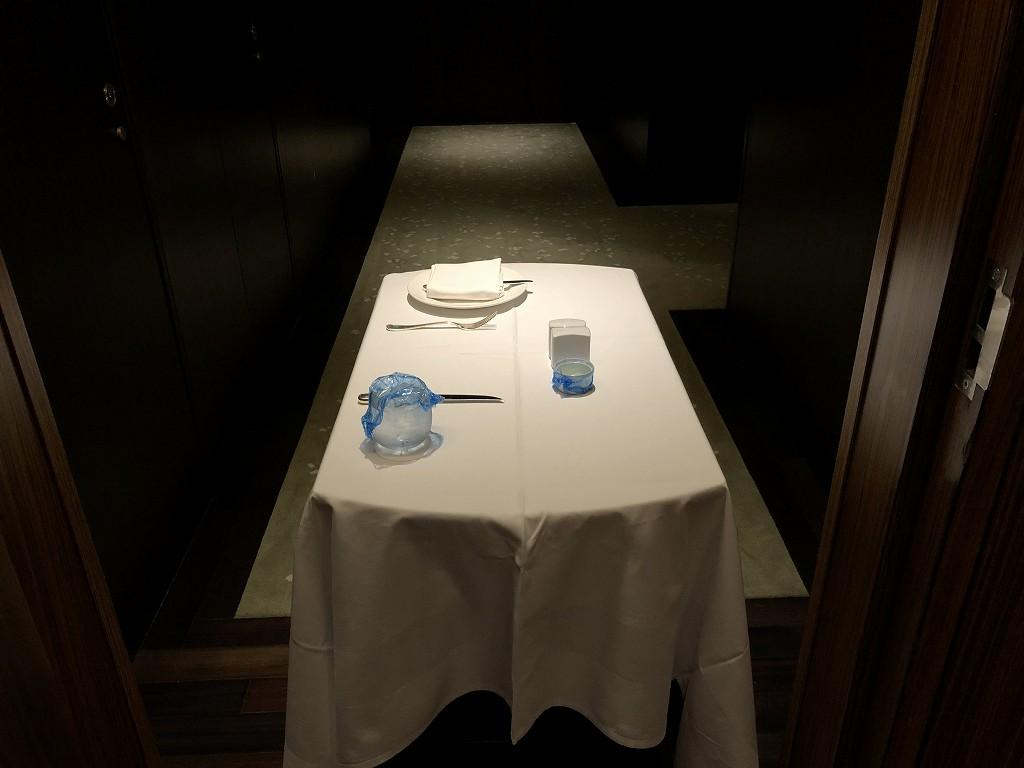 コンラッド東京のインルームダイニングの置き配1