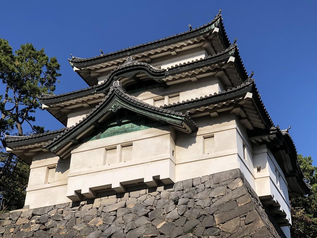 江戸城の富士見櫓2