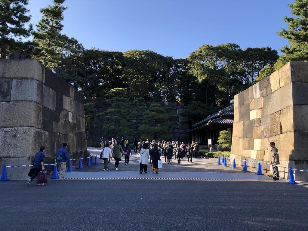 江戸城の中の門の石垣3
