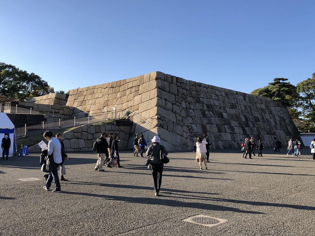 江戸城の天守台