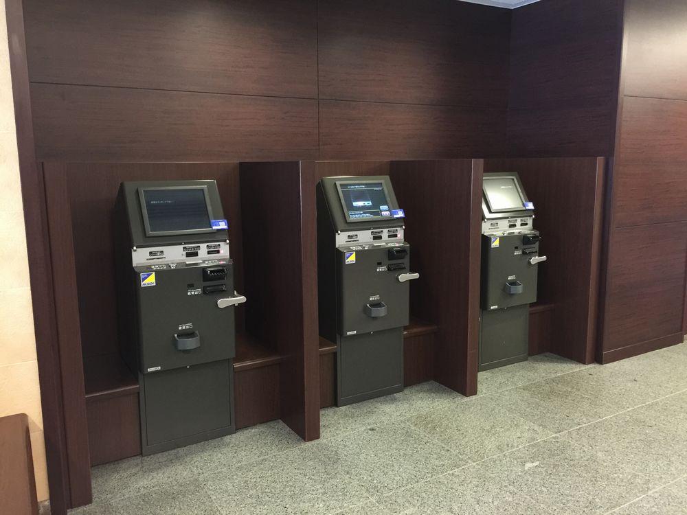 ダイワロイネットホテル秋田の精算機