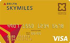 デルタ スカイマイル SuMi TRUST CLUB ゴールドVISAカード券面デザイン