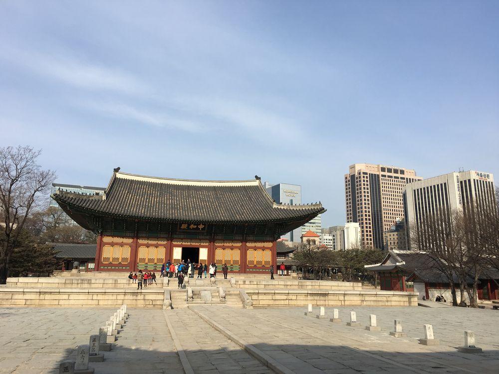 徳寿宮の中和殿