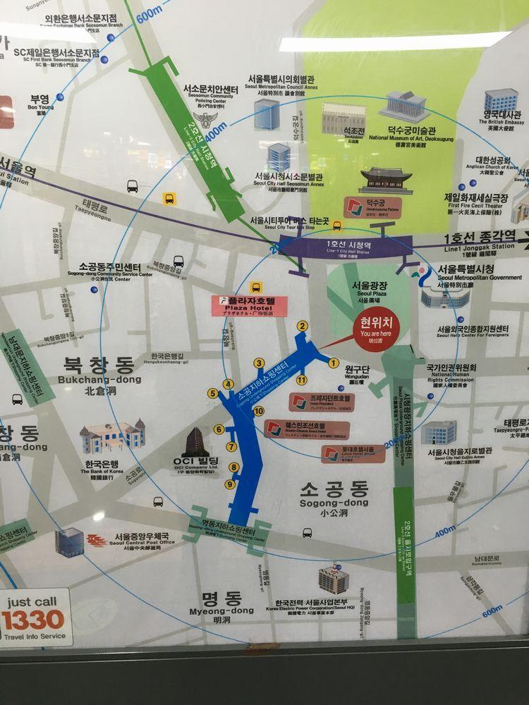 徳寿宮への地下道