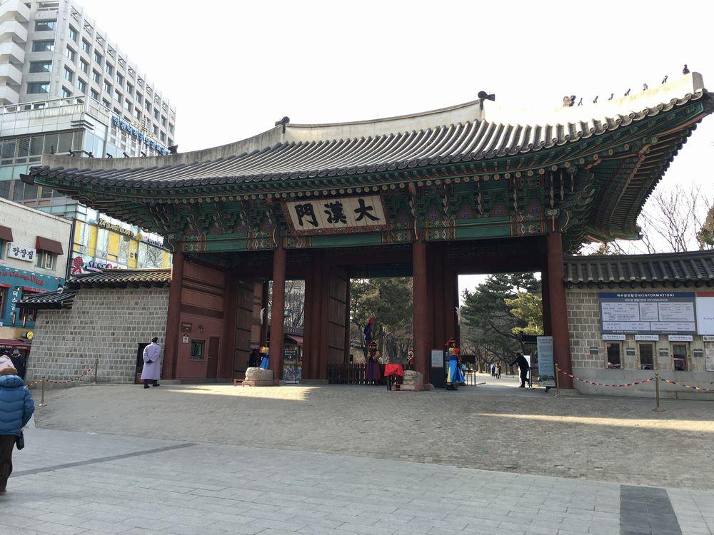 徳寿宮の大漢門