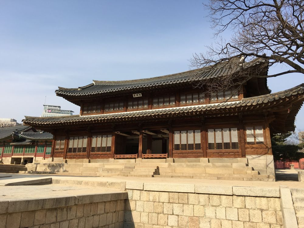徳寿宮の昔御堂
