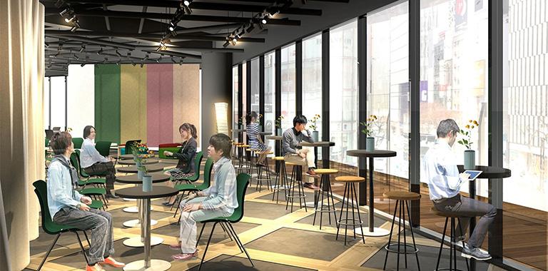 Diners Club Mid-Summer Lounge(ダイナースクラブ ミッドサマーラウンジ)no イメージ図