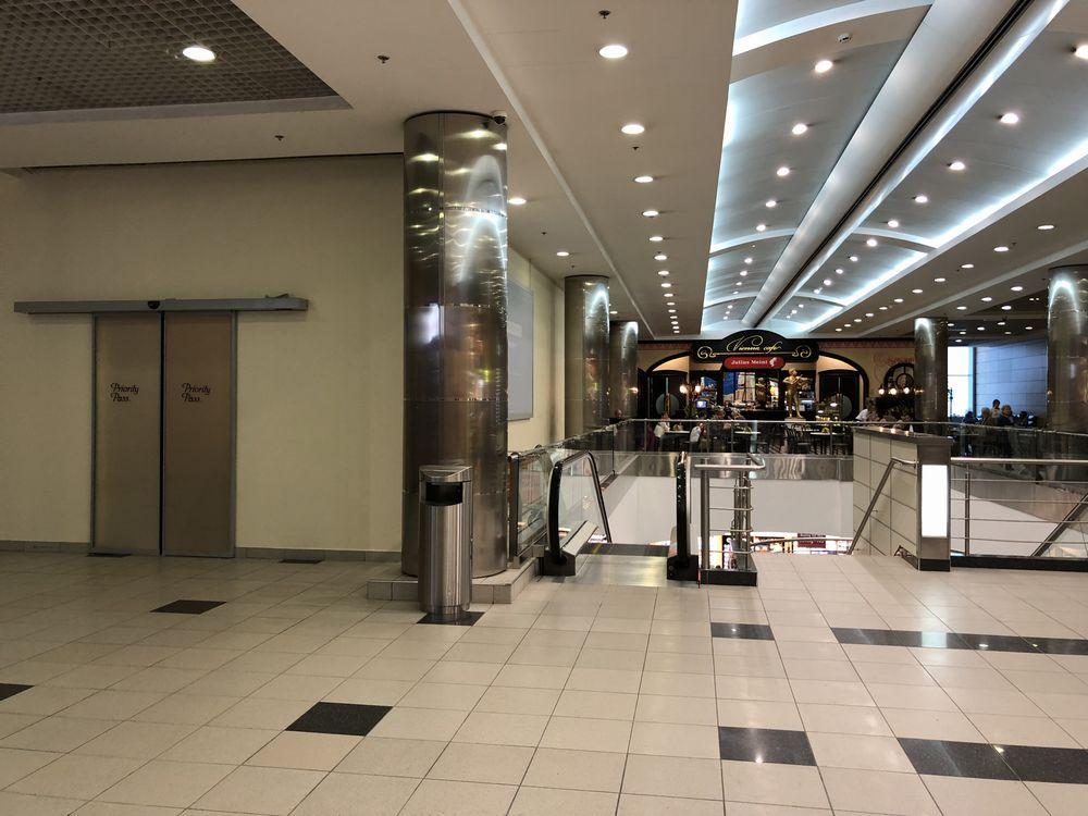 ドモジェドヴォ空港(DME)のプライオリティ・パス ビジネスラウンジの位置