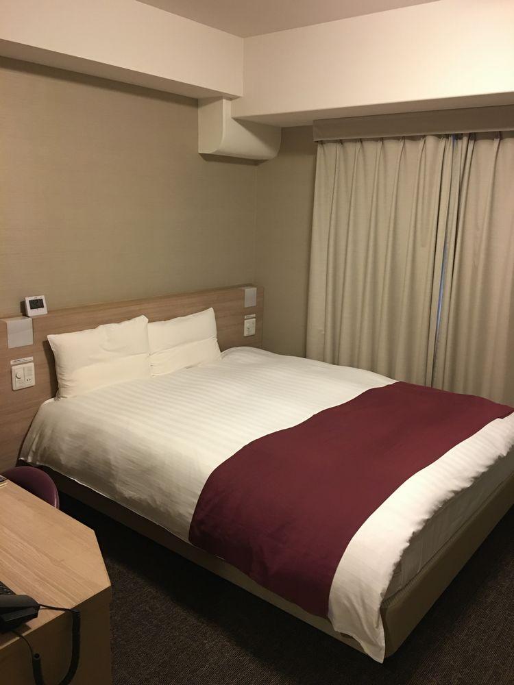 ドーミーインEXPRESS松江のベッド