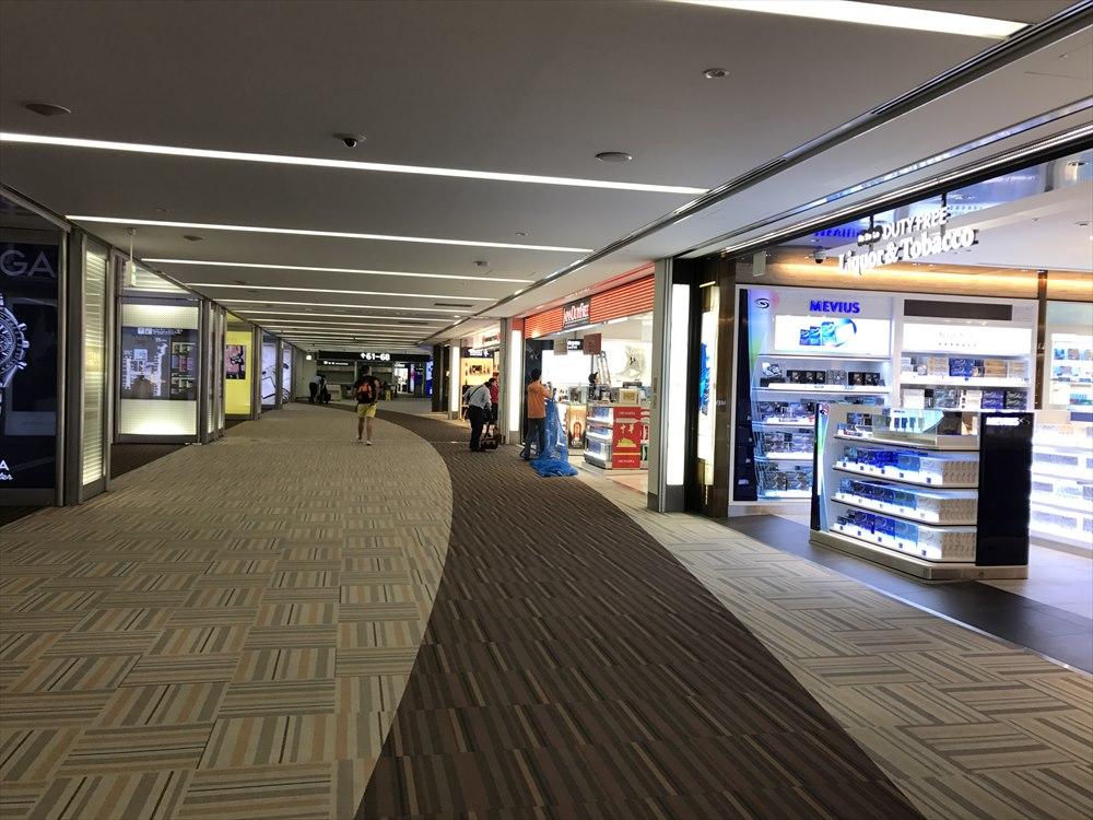 成田空港の免税店の閉店時間