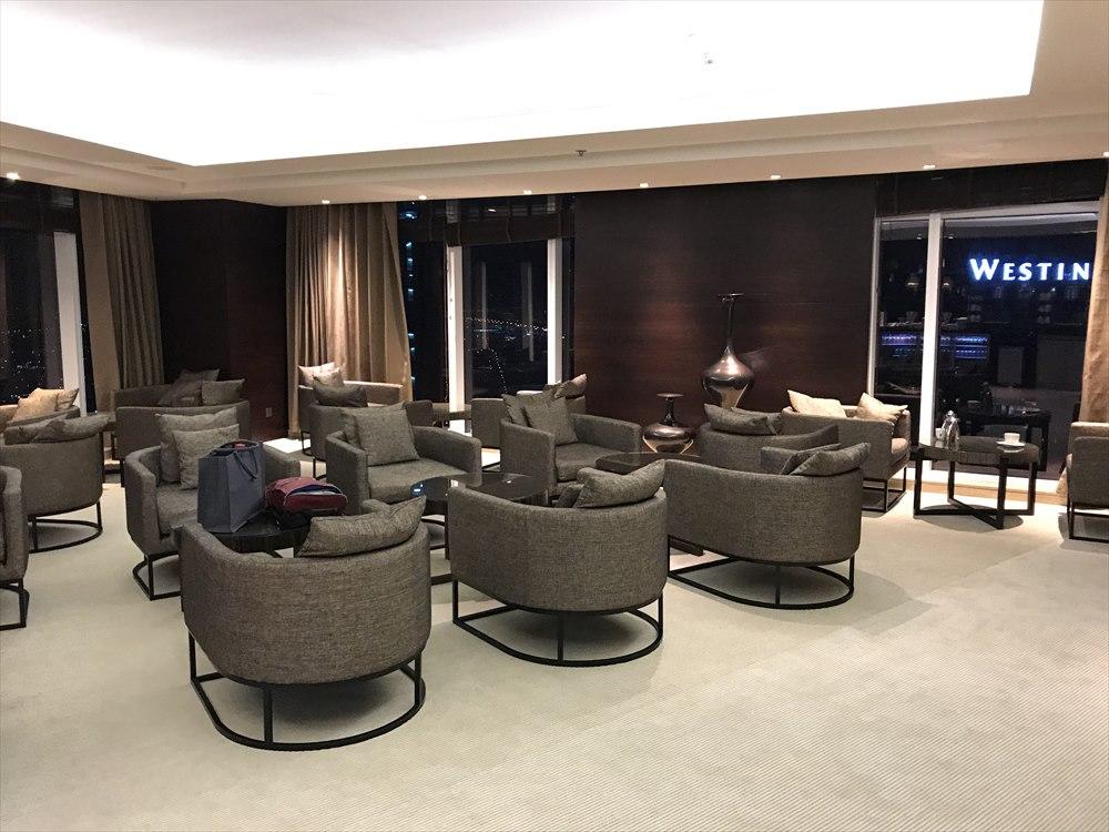 JWマリオット・マーキス・ホテル ドバイのクラブラウンジ1