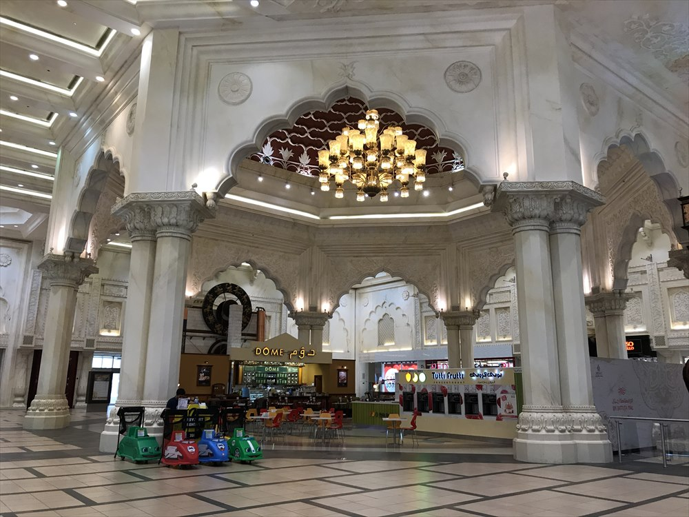 イブン・バトゥータ・モールのインドコートのホール1